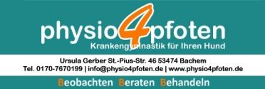 Physiotherapie für den Hund | Ursula Gerber
